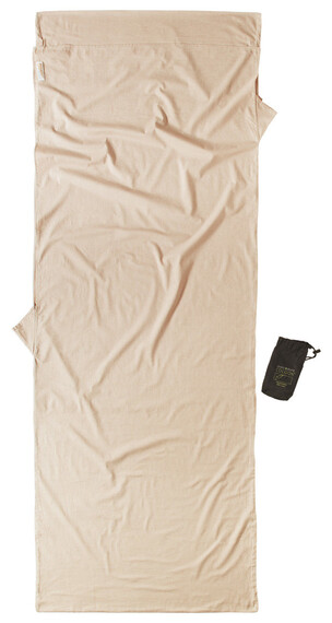 Cocoon Insect Shield TravelSheet Sovepose Cotton beige